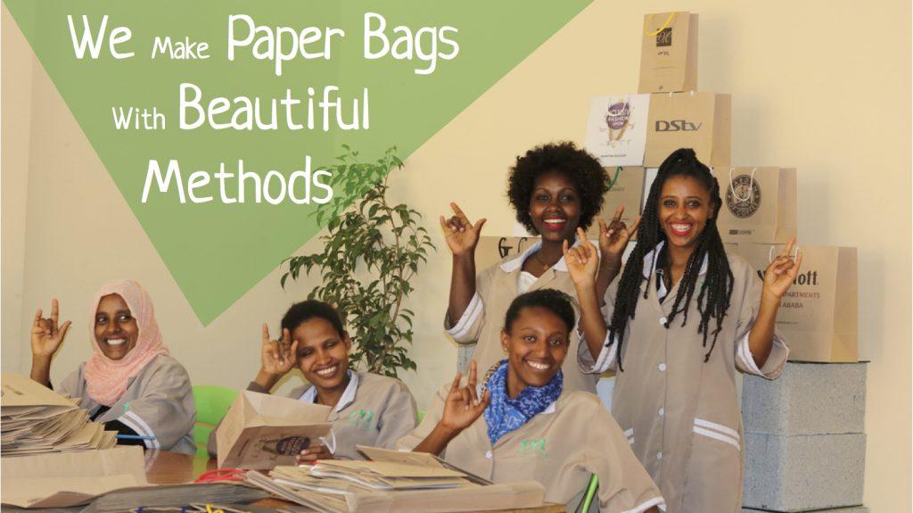 Éthiopie:Teki Paper Bags, la startup à succès développée par des femmes malentendantes