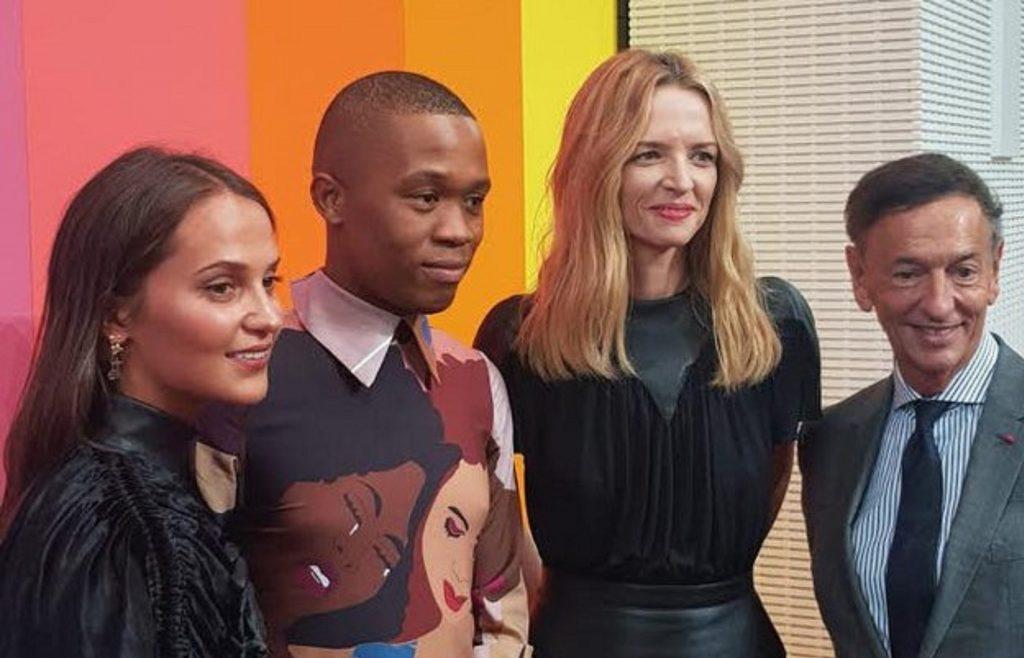 Paris: Thebe Magugu, 26 ans, remporte le prix LVMH 2019