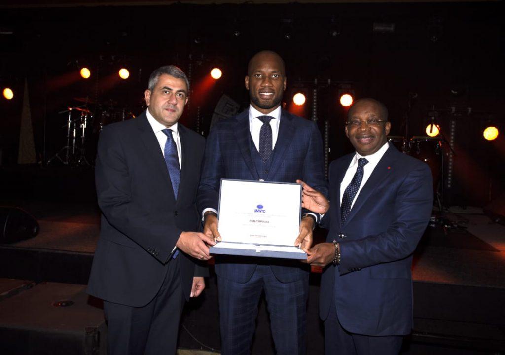 Didier Drogba nommé ambassadeur de l'Organisation mondiale du tourisme (OMT)