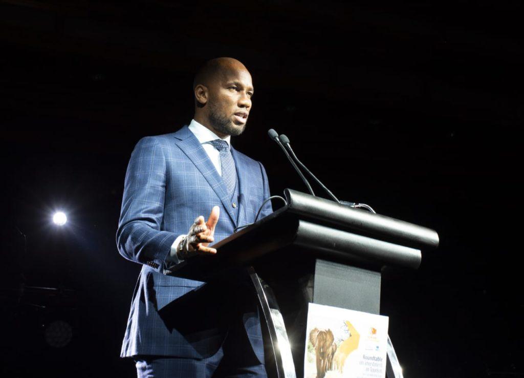 """Résultat de recherche d'images pour """"Didier Drogba désigné ambassadeur du tourisme par l'Organisation mondiale du tourisme (OMT)"""""""
