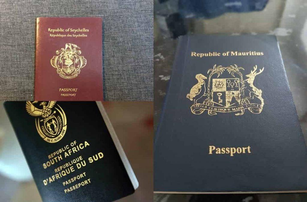 Henley Passport Index: Seychelles, Maurice et l'Afrique du Sud toujours en tête