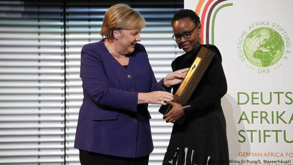 Juliana Rotich lauréate du Prix de la fondation allemande pour l'Afrique 2019