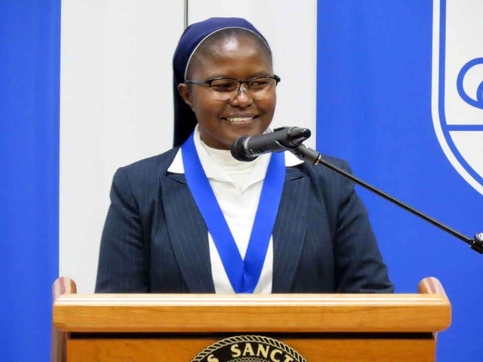 RDC: Sr Catherine Mutindi lauréate du prix Opus 2019