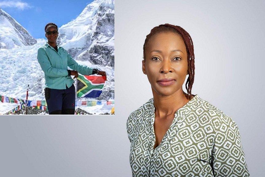 La sud-africaine Saray Khumalo veut atteindre les 7 plus hauts sommets montagneux du monde