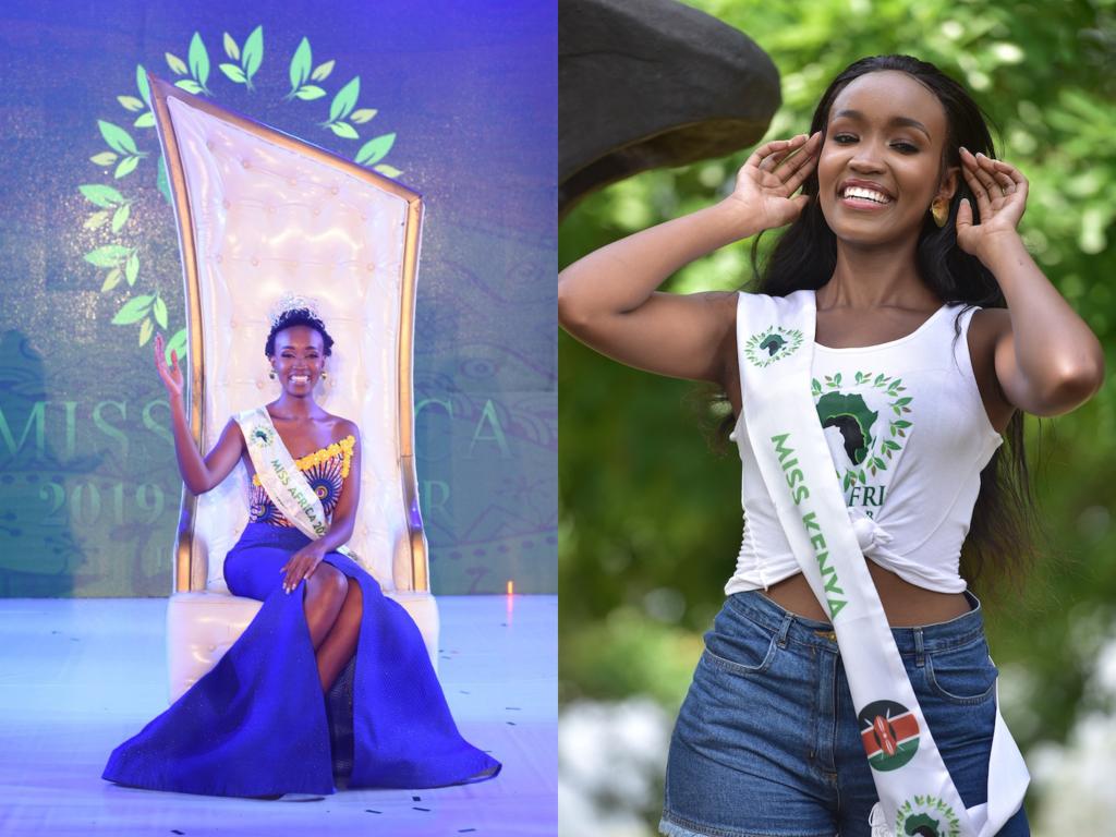 Irene Ng'endo Mukii élue Miss Africa 2019