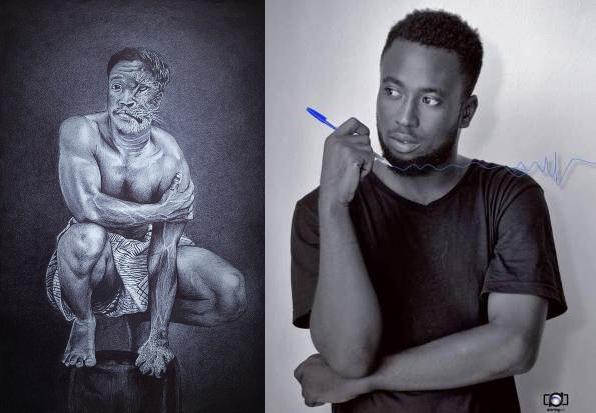 Le béninois Fatiou Aboudou a remporté le concours BIC Art Master Africa