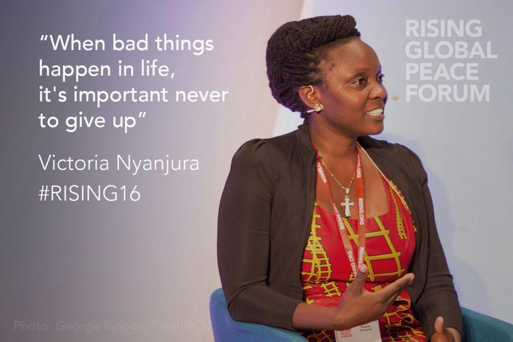 Victoria Nyanjura, lauréate du prix Amnesty International USA