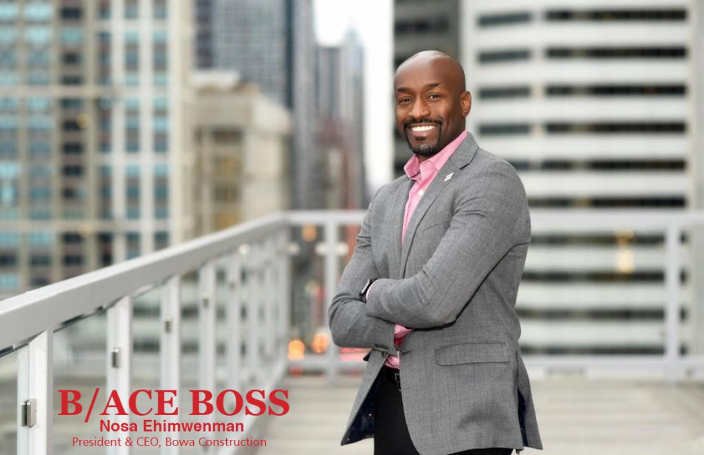 USA: Nosa Ehimwenman,39 ans,champion de la construction à Chicago