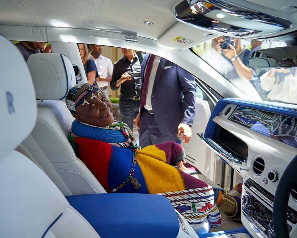 Afrique du Sud: La Rolls-Royce «Mahlangu Phamtom» dévoilée au grand public