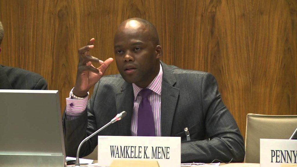 Wamkele Mene élu secrétaire général de la Zone de libre-échange continentale africaine (ZLECA)