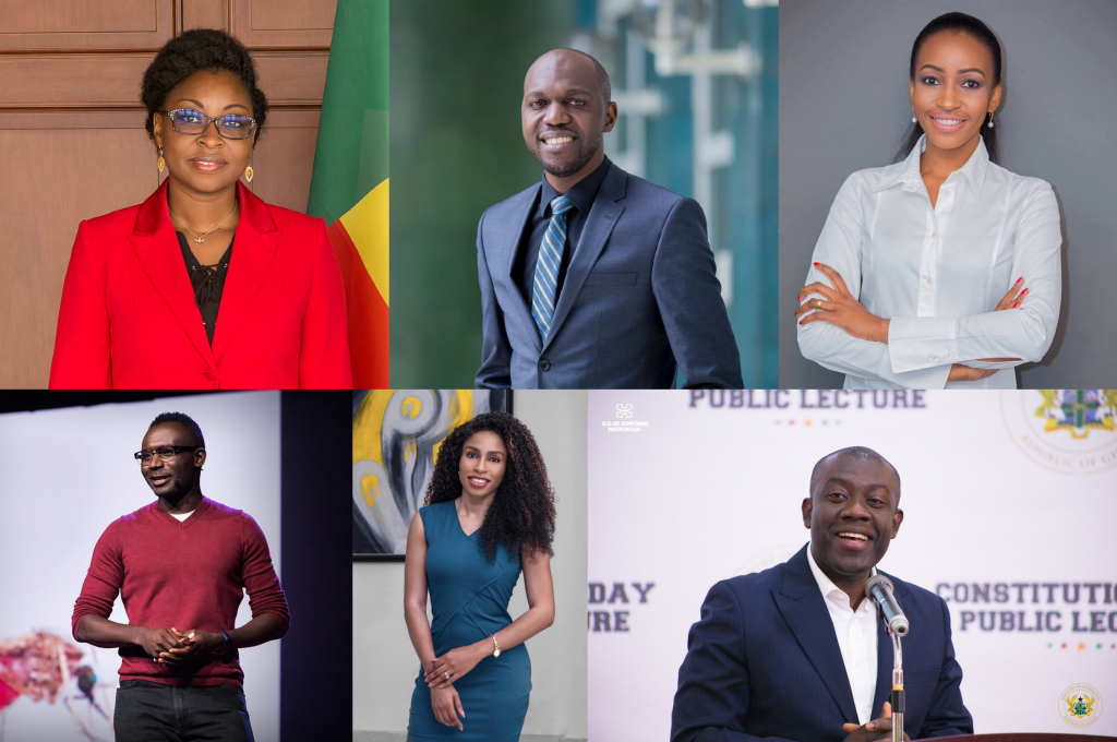 Les 10 Young Global Leaders Africains du Forum économique mondial,édition 2020