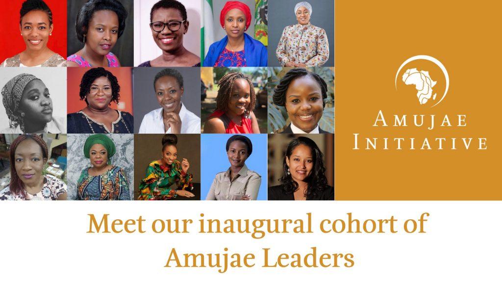 Les 15 premières participantes d'«Amujae Initiative» du centre Ellen Johnson Sirleaf