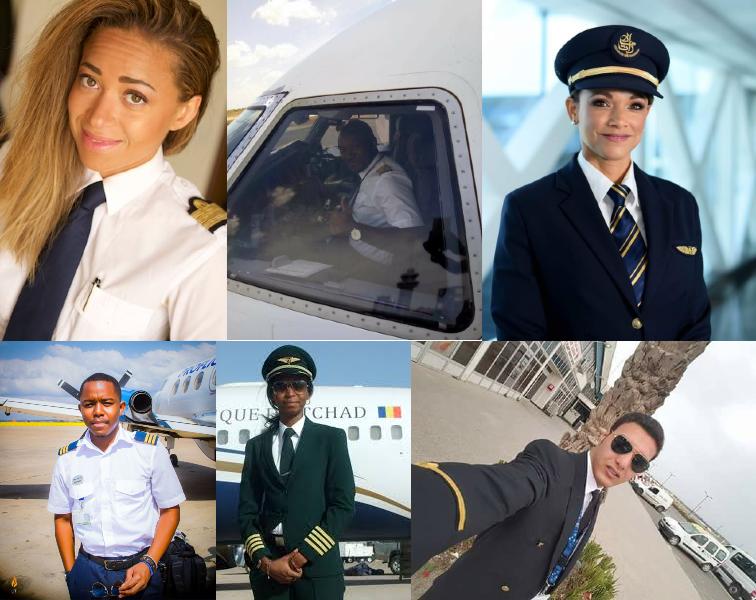 25 Jeunes pilotes africains qui font la différence dans l'espace aérien en Afrique et dans le monde