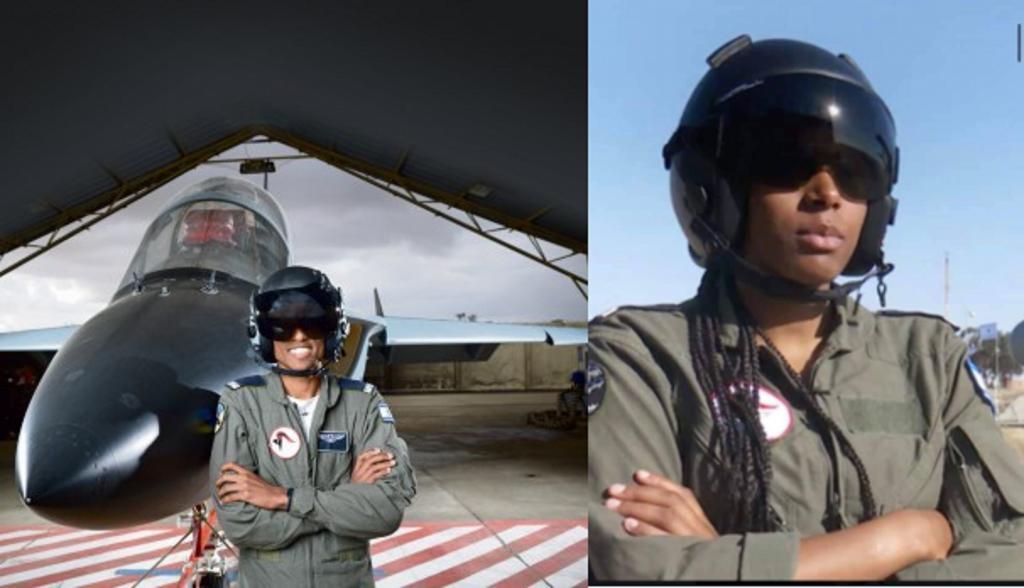 Lieutenant T et lieutenant Y,pilotes d'élite de l'armée israélienne