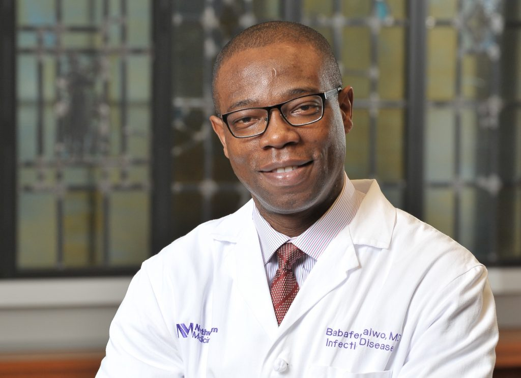 Le Dr Babafemi Taiwo élu au comité exécutif du plus grand réseau mondial d'essais cliniques sur le VIH