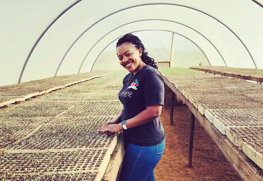 Zambie: Maria Zileni Zaloumis,35ans,l'infirmière de formation qui a fait fortune dans l'Agribusiness
