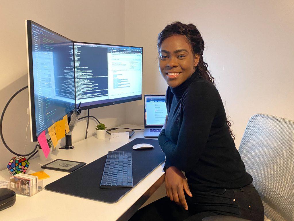 Emillia-rosette Nlandu-Nzinga: «J'aime faire partie de la solution,l'innovation me motive»