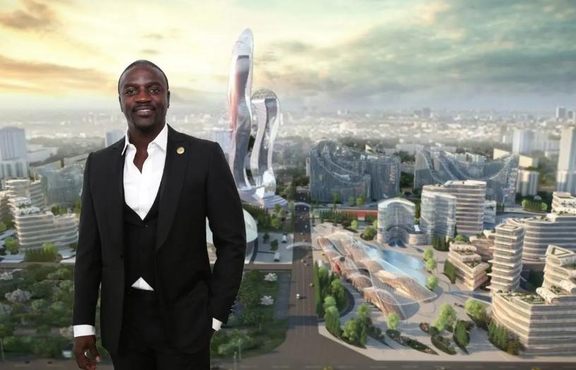 Akon City: la ville de 6 milliards Usd sera complètement opérationnelle en 2030