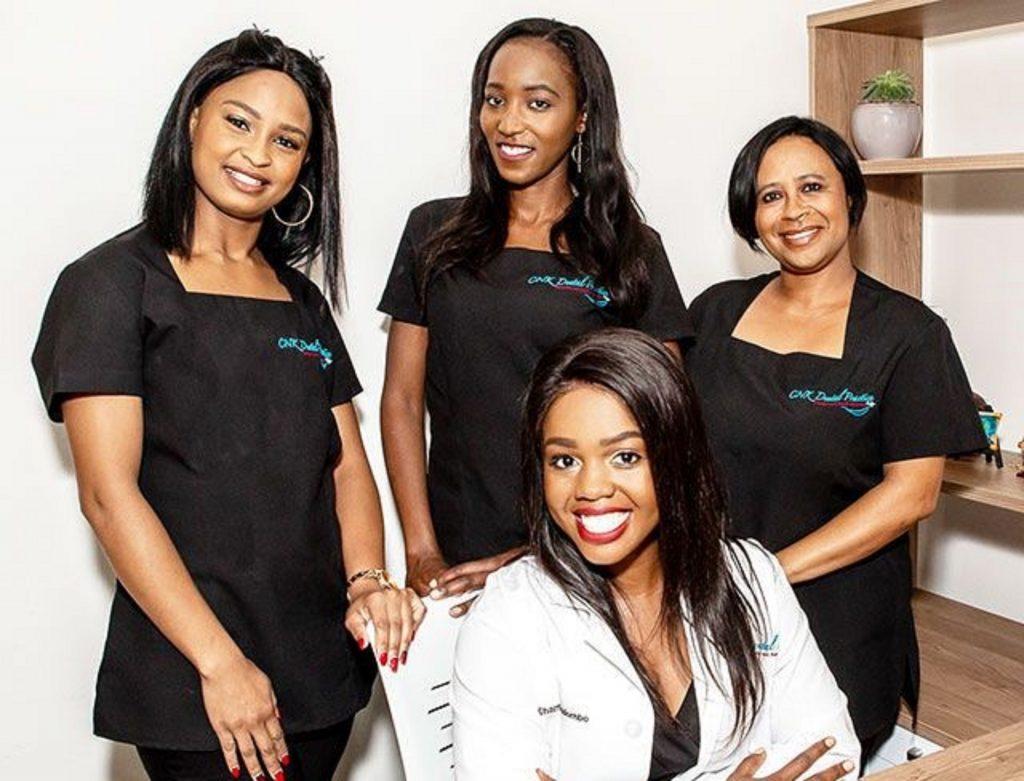 Namibie:Charmaine Kandombo,29 ans,Chirurgienne Dentiste,Entrepreneure et Mentor