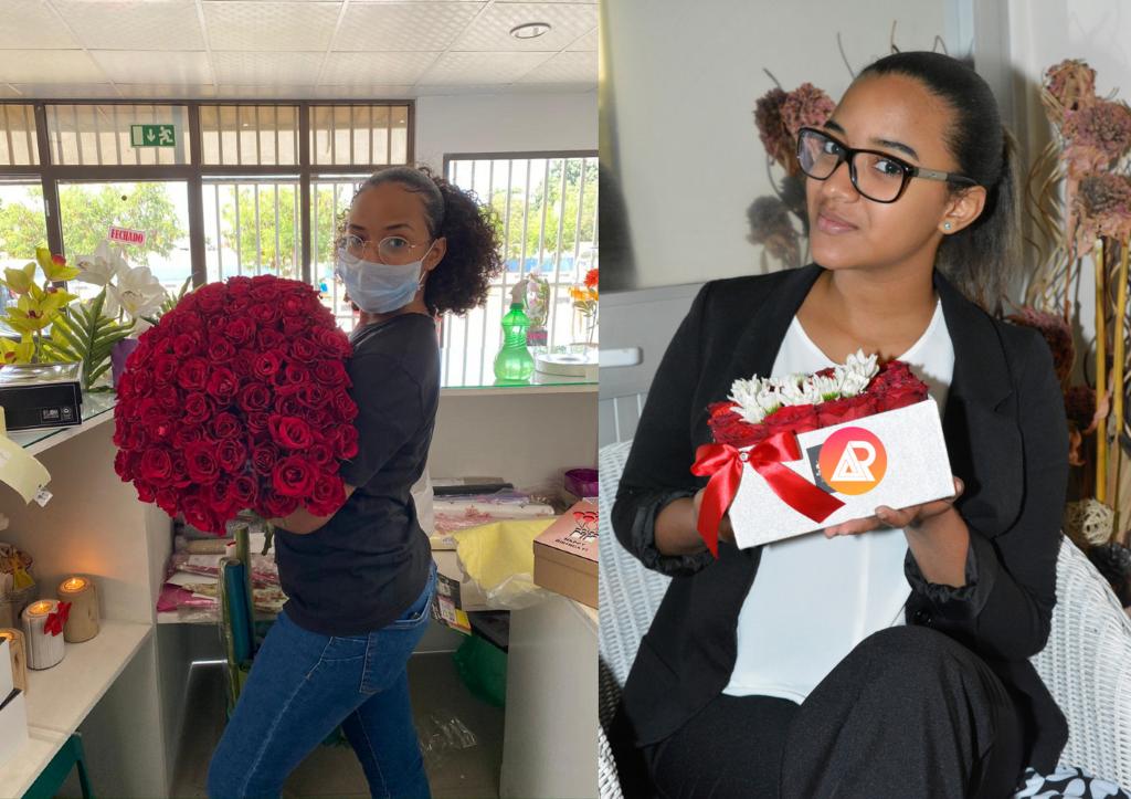 Fernanda Alves:«l'ambition de mon entreprise est d'être la meilleure fleuristerie d'Angola»