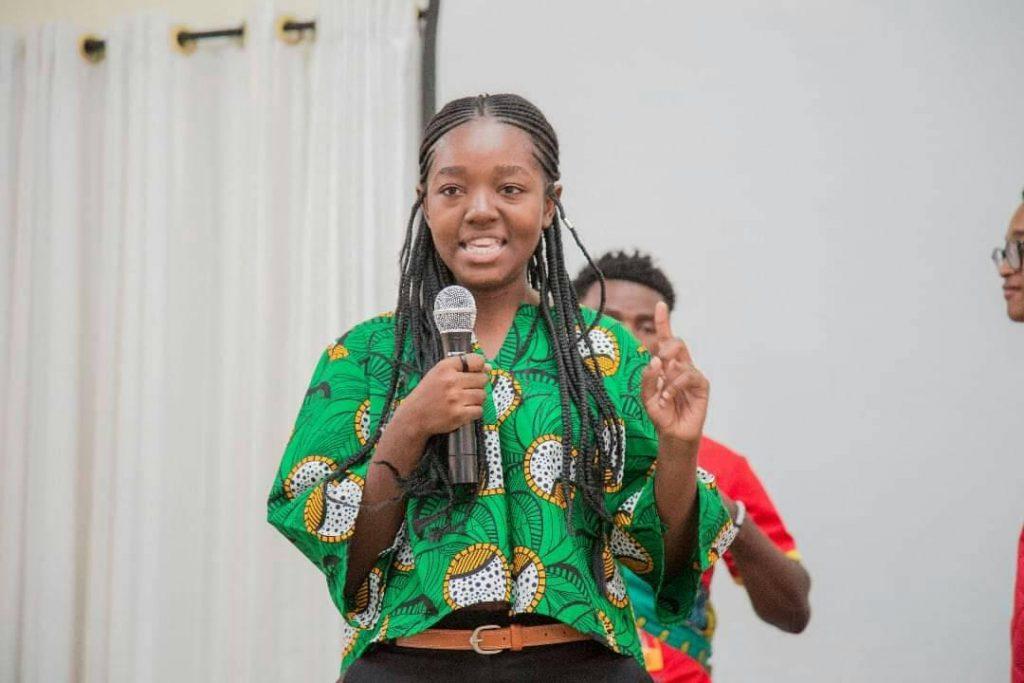 Rehoboth Kafwabulula,21 ans, nommée porte-parole national du parti socialiste zambien