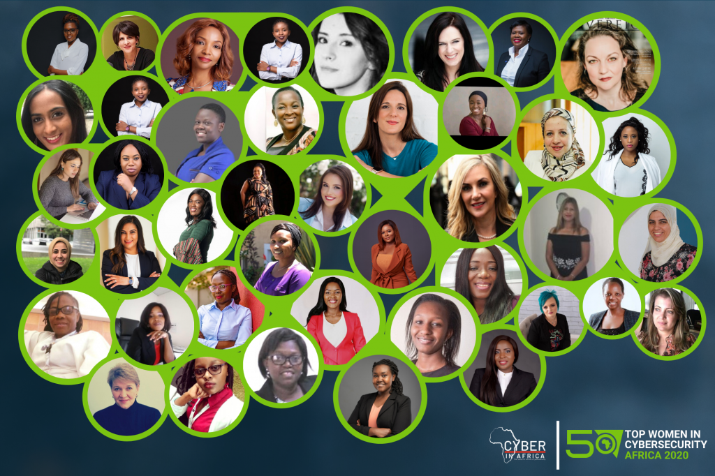 50 Africaines spécialistes de la Cybersécurité