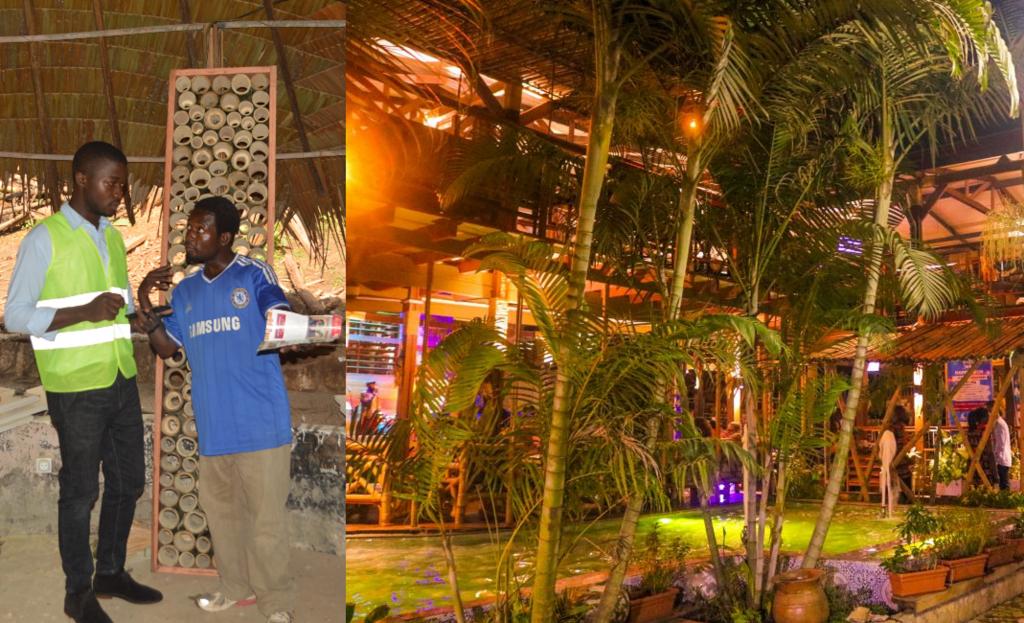 Cameroun: Lionel Tsague Zefack,26 ans, l'architecte du bambou