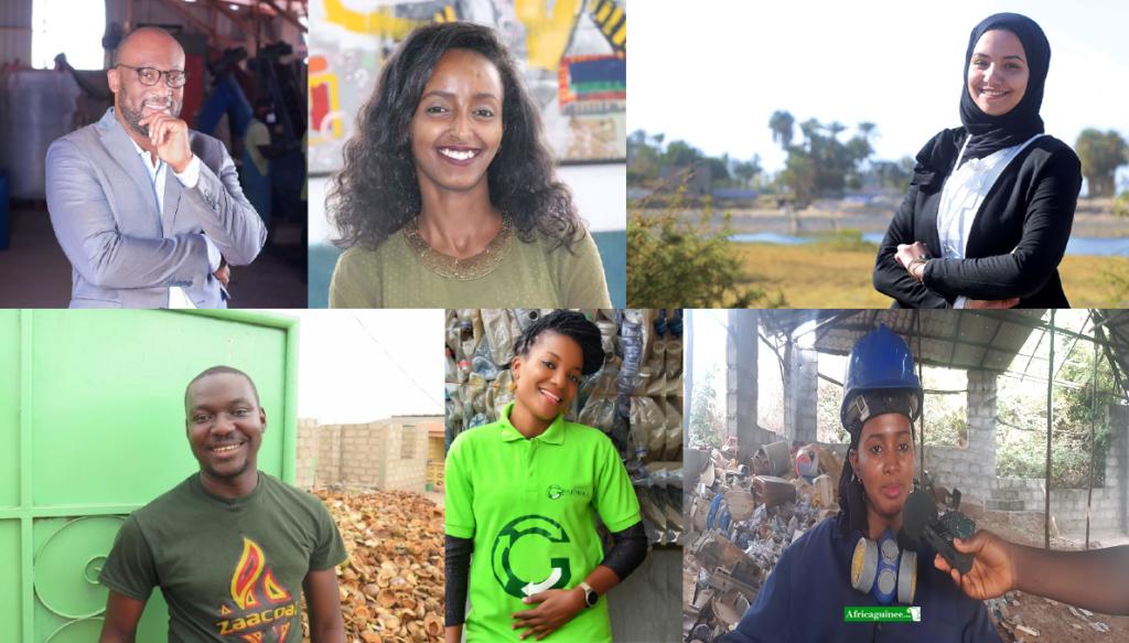 21 Jeunes Entrepreneurs Africains qui réussissent dans le business du recyclage des déchets