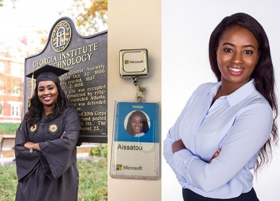 Aissatou Bah,26 ans, la plus jeune ingénieure guinéenne à travailler chez Microsoft
