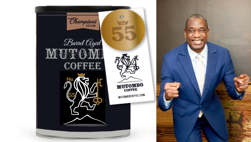 «Mutombo Coffee», la nouvelle marque de café de Mutombo Dikembe