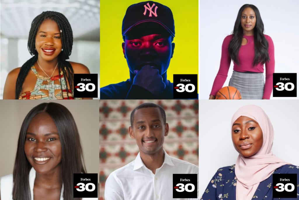 Forbes 30 Under 30 : 20 jeunes innovateurs d'origine africaine figurent sur la liste