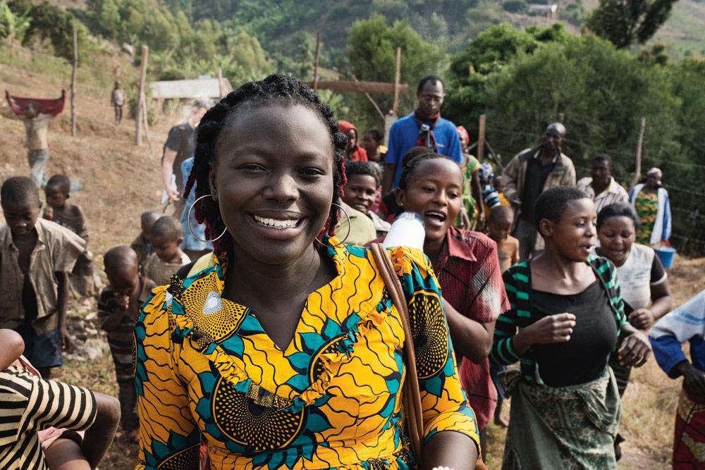 Marcelline Budza, lauréate du Prix des droits de l'homme de l'université d'Oslo
