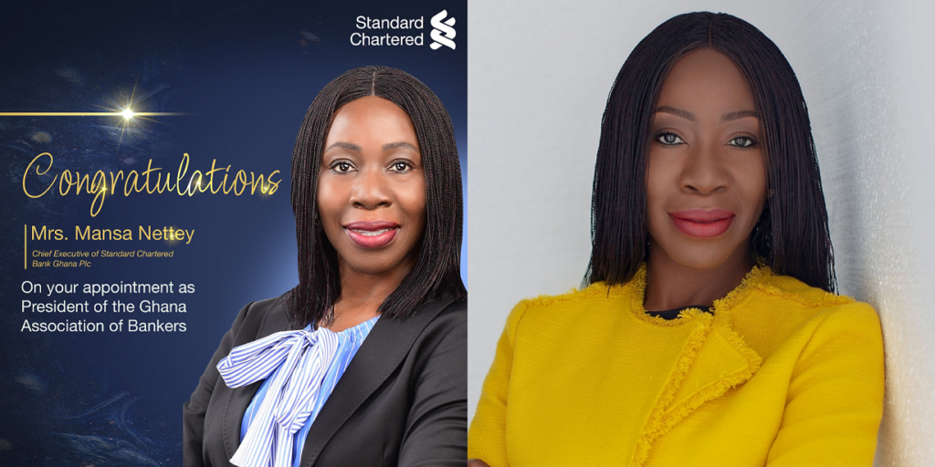 Mansa Nettey, nouvelle présidente de l'association des banquiers du Ghana