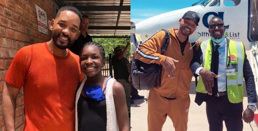 Will Smith en Namibie pour la réalisation d'un documentaire