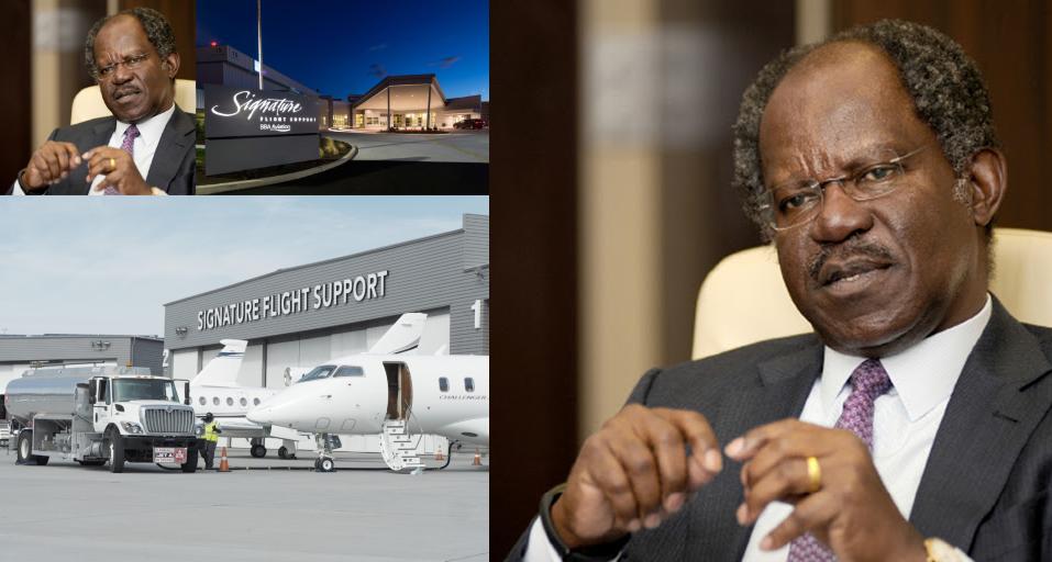 Adebayo Ogunlesi va acquérir le plus grand réseau de centres de services aéronautiques au monde.