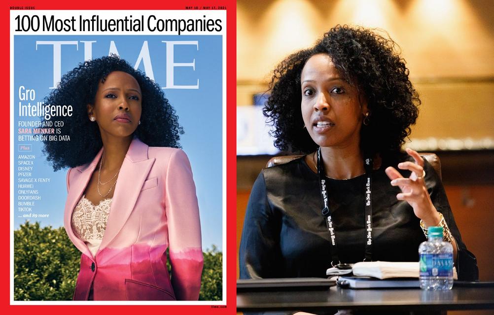 Time 100: Gro Intelligence de Sara Menker sur la liste des entreprises les plus influentes au monde