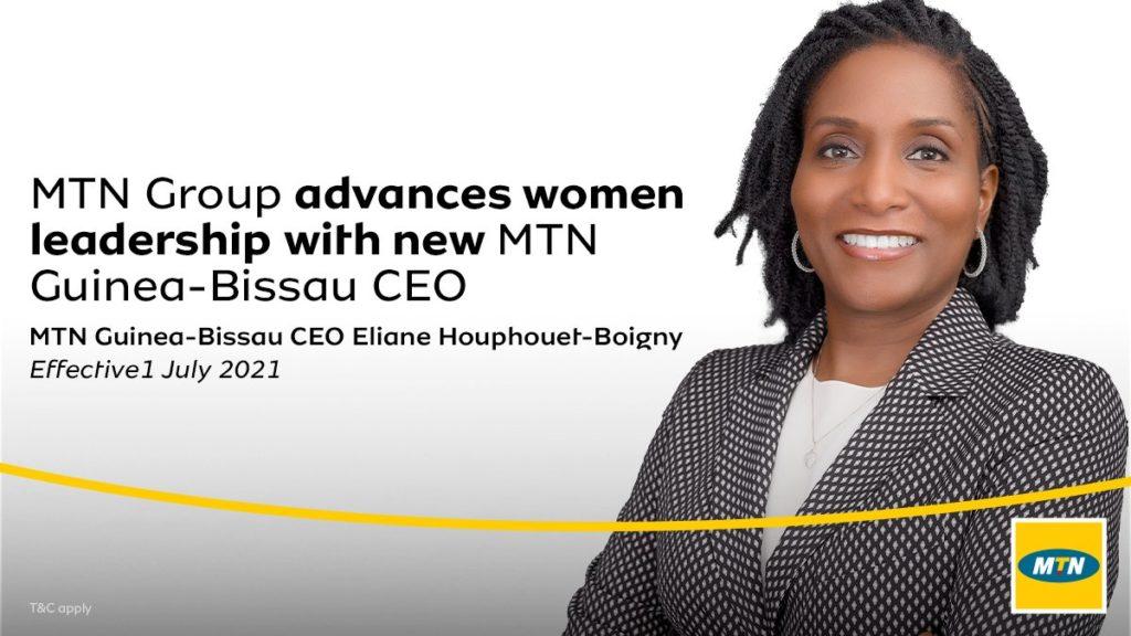 Eliane Houphouët-Boigny, nouvelle CEO de MTN en Guinée-Bissau