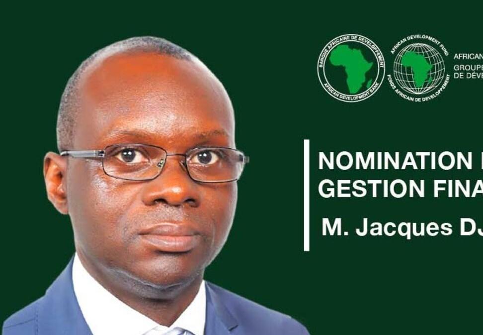 Jacques Djofack nommé Directeur de la gestion financière de la Banque Africaine de Développement