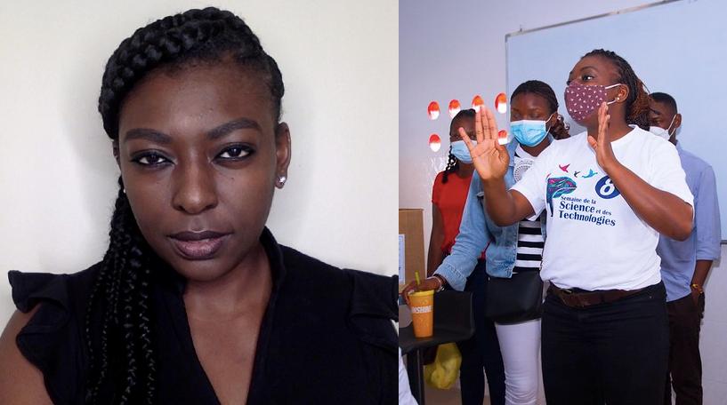 Interview. Dora Muanda:«notre objectif est de promouvoir une culture scientifique au sein de la jeunesse congolaise»