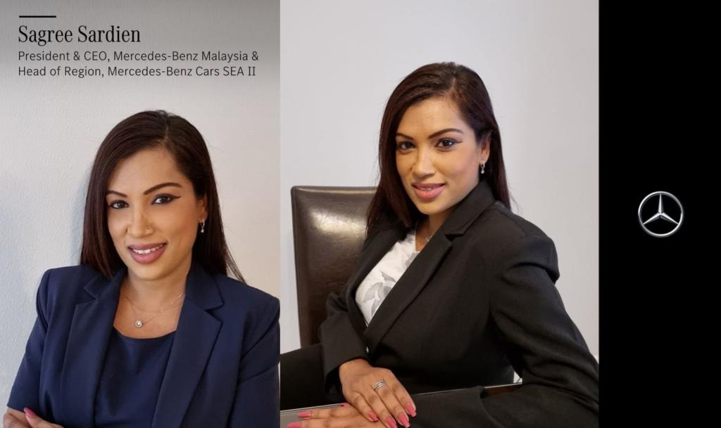 La sud-africaine Sagree Sardien est nommée présidente et CEO de Mercedes-Benz Malaisie