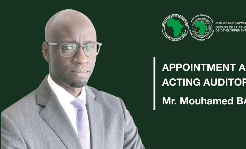 Mouhamed Ba nommé auditeur général par intérim de la Banque africaine de développement