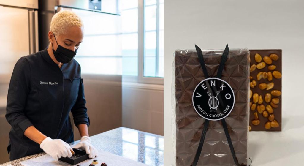 La belgo-congolaise Danuta Nganko crée du chocolat Made In Sénégal aux saveurs locales