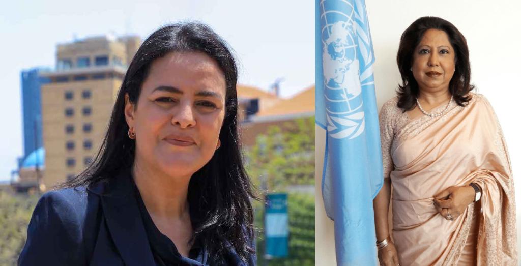 ONU:nominations de de la Marocaine Karima El Korri et de la Mauricienne Pramila Patten