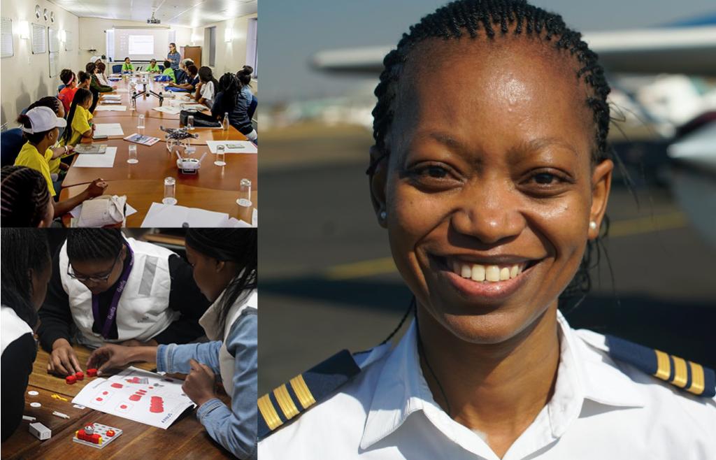 La pilote sud-africaine Refilwe Ledwaba, lauréate du prix AeroTime Hub 2021