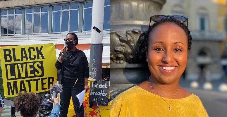 Awet Tesfaiesus,première femme noire à siéger au Bundestag,le Parlement allemand