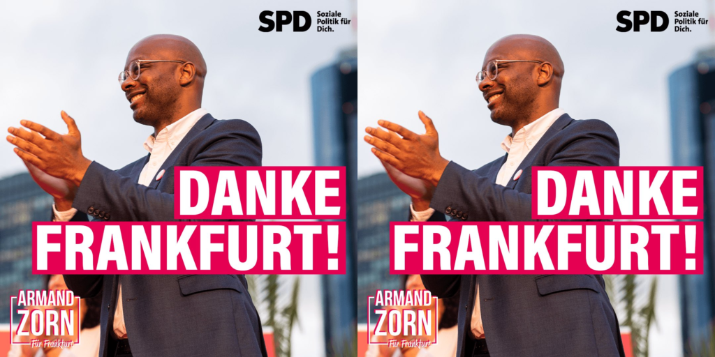 Armand Zorn,33 ans,élu député au Parlement fédéral en Allemagne